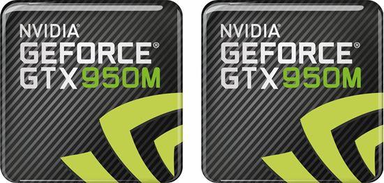 Picture of Nvidia GTX 950M Gel Badges