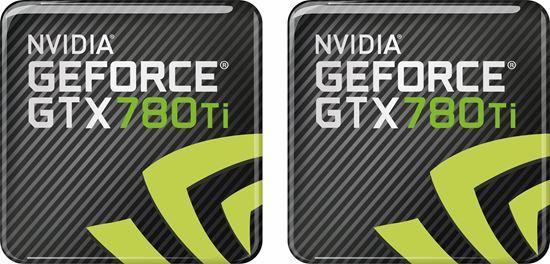 Picture of Nvidia GTX 780TI Gel Badges