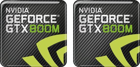 Picture of Nvidia GTX 800M Gel Badges