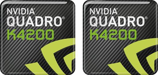 Picture of Nvidia Quadro K4200 Gel Badges
