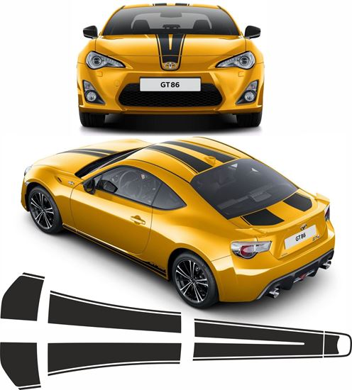 Picture of Toyota GT86 over the top Stripes  EXACT FACTORY FIT