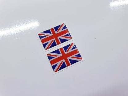 Picture of Triumph Union Jack replacement Gel Badges