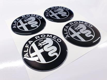 Picture of Alfa Romeo Wheel centre Gel Badges