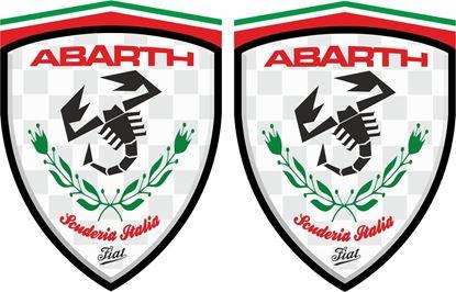 Picture of Fiat Abarth Scudaria Italia Decals / Stickers