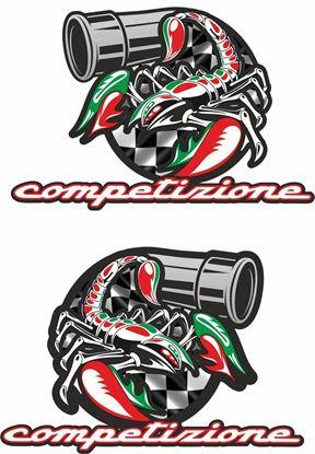 Picture of Fiat Abarth Scorpion Competizione Decals / Stickers
