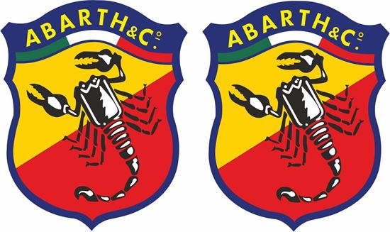 Picture of Fiat Abarth Decals / Stickers