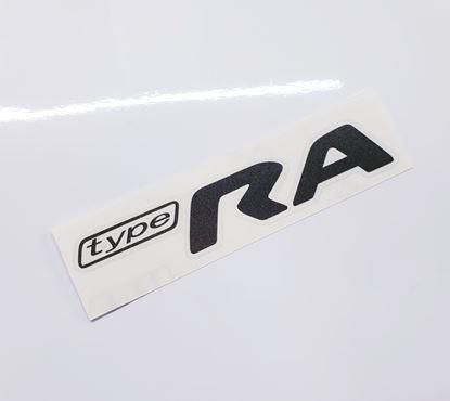 "Picture of Impreza STi ""Type RA"" rear Decal / Sticker Anthracite"