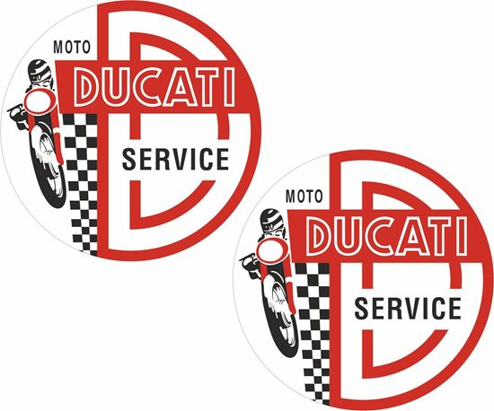 Picture of Ducati Service Decals / Stickers