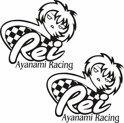 Picture of Ayanami Racing Decals / Stickers