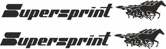 Picture of Supersprint Decals / Stickers