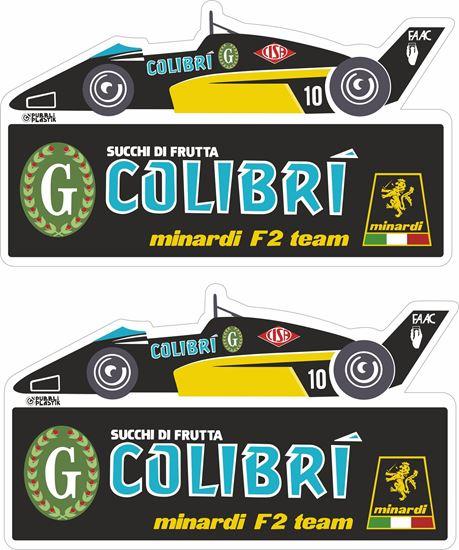 Picture of Minardi  Colibri European F2 Team Decals / Stickers