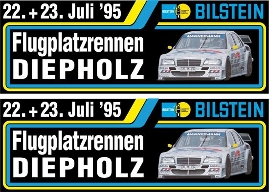 Picture of Mercedes 1995 Diepholz DTM Decals / Stickers