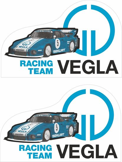 Picture of joest vegla racing team 935 drm 1980 Decals / Stickers