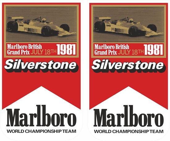 Picture of British Grand Prix Mclaren Malboro 1981 Decals / Stickers