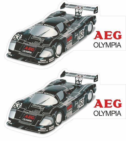 Picture of Mercedes AEG Olympia Sauber Mercedes C9 Le Mans Decals / Stickers