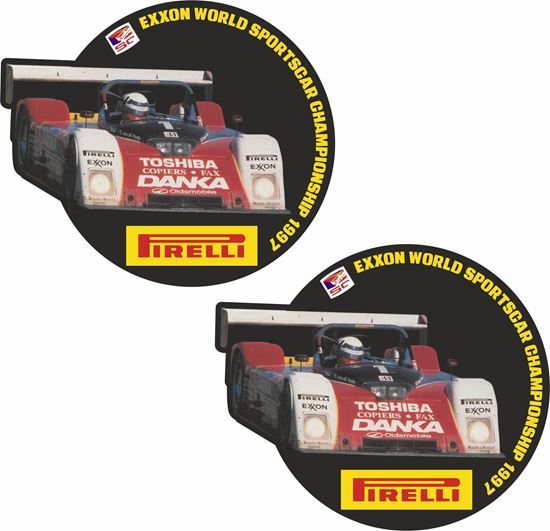 Picture of Imsa sports car championship Doyle  Decals / Stickers