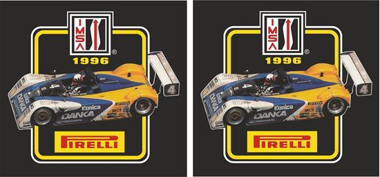 Picture of Imsa sports car championship 1996 Decals / Stickers