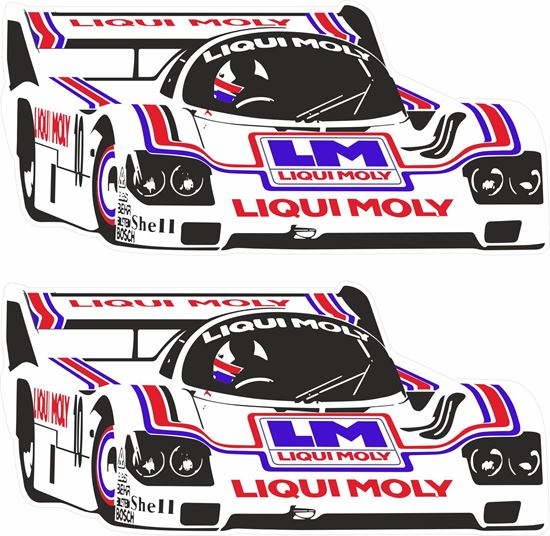 Picture of Kremer Liqui Moly 962 WEC DRM Decals / Stickers