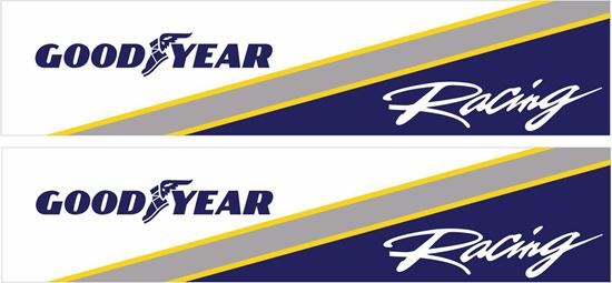 Picture of Goodyear Racing Decals / Stickers