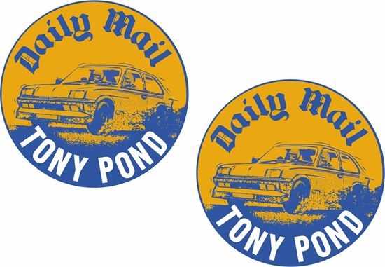 Picture of Vauxhall Chevette Tony Pond Decals / Stickers