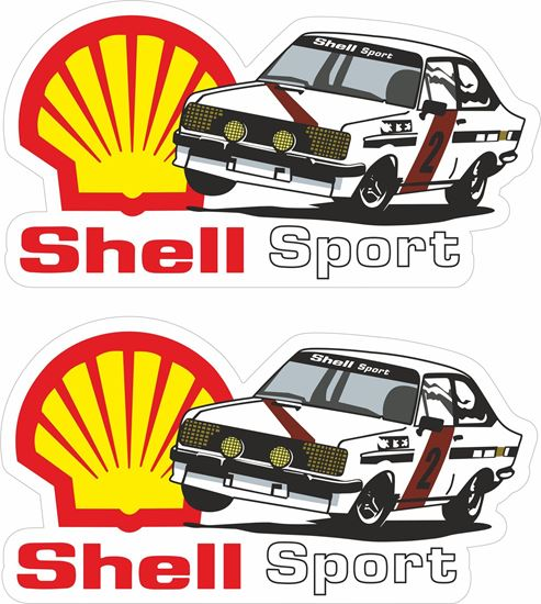 Picture of Shell Sport Ford Escort MK2 Decals / Stickers