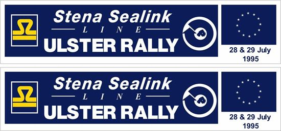 Picture of Ulster Rally 1995 Decals / Stickers