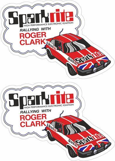 Picture of Triumph Roger Clarke Triumph TR7 Decals / Stickers