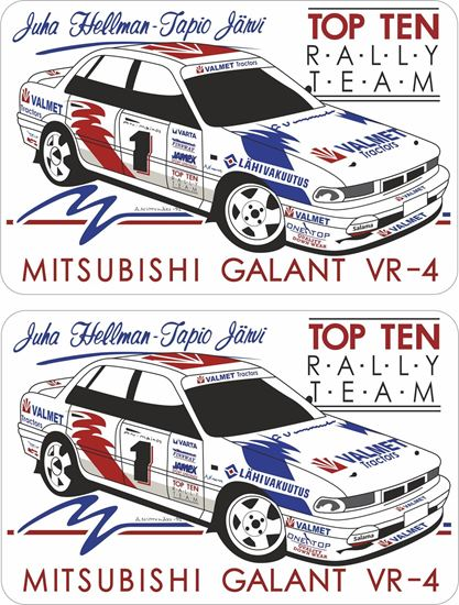 Picture of Mitsubishi Galant VR4 Decals / Stickers
