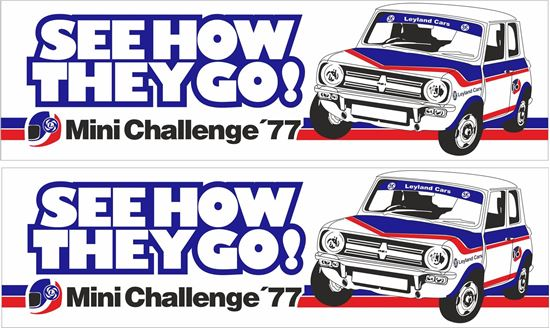 Picture of Mini Challenge 1977 Decals / Stickers