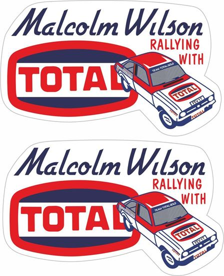 Picture of Malcom Wilson Ford Escort MK2 Total Decals / Stickers