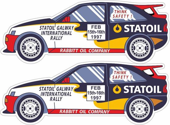 Picture of Gallaway International Rally Decals / Stickers