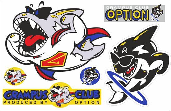 Picture of Grampus Option Sticker sheet