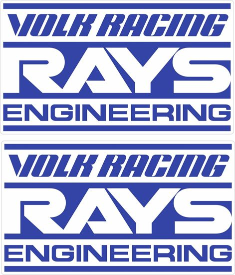 Picture of Rays Engineering /  Volk Racing Decals / Stickers
