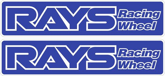 Picture of Rays Racing Wheel Stickers