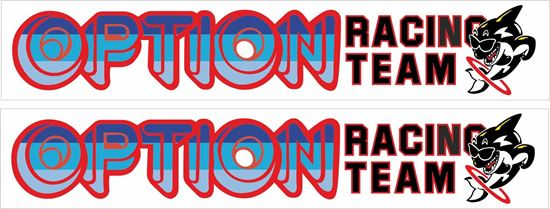 Picture of Option Racing Team Decals / Stickers