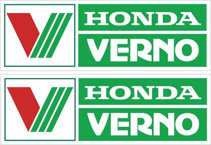 Picture of Honda Verno Decals / Stickers
