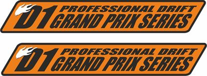 Picture of D1 Grand Prix Series Decals / Stickers