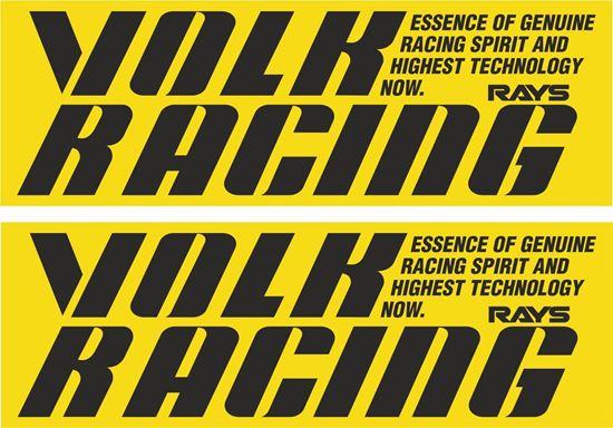 Picture of Volk Racing Decals / Stickers