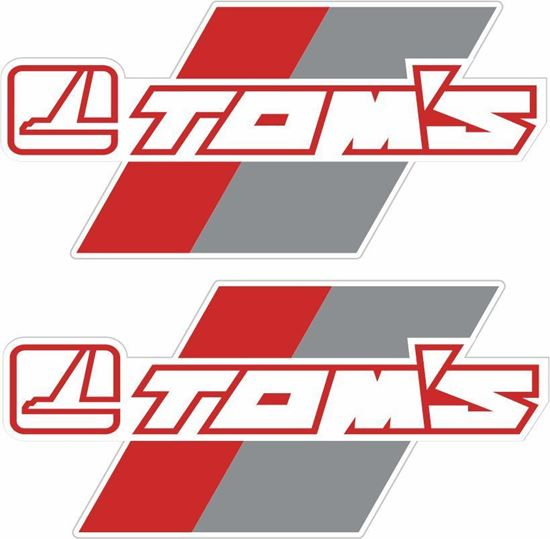 Picture of Toyota Tom's Decals / Stickers