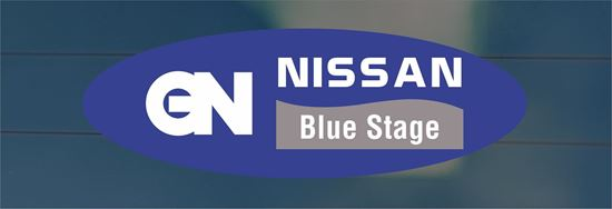Picture of Nissan Blue Stage Dealer Decals / Stickers