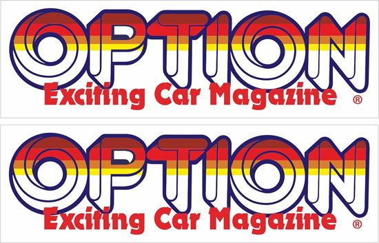 Picture of Option Car Magazine Decals / Stickers