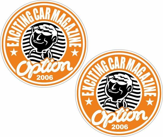 Picture of Option Car Magazine 2006 Decals / Stickers