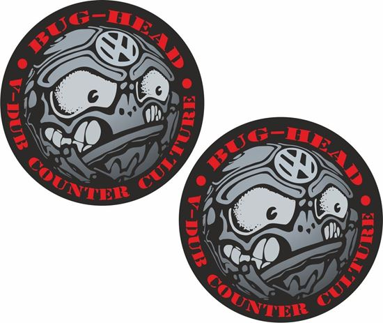 Picture of Bug Head Decals / Stickers