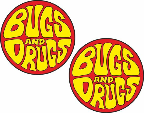 Picture of Bugs and Drugs Decals / Stickers