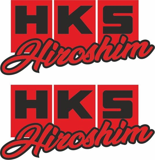 Picture of HKS Hiroshim Decals / Stickers