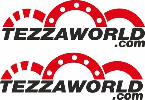 Picture of Tezzaworld.com Decals / Stickers