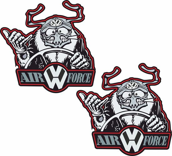 Picture of Air Force Decals / Stickers