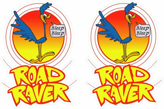 Picture of Road Raver Decals / Stickers