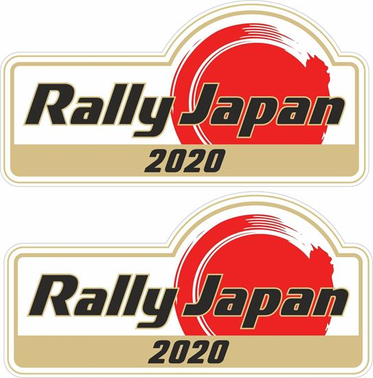 Picture of Rally Japan 2020 Decals / Stickers