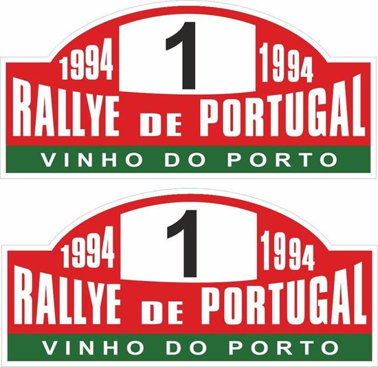 Picture of Rally de Portugal 1994 Decals / Stickers